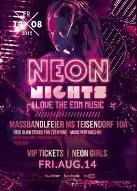 Neon Nights / We Love EDM - Massbandlfeier Ms Teisendorf 10a