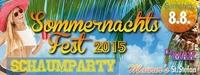 Maurer´s Sommernachtsfest ´15 - Schaumparty