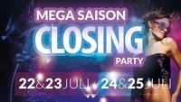 Mega Saison Closing Party