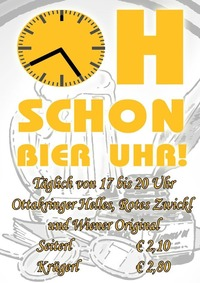Bier Happy Hour
