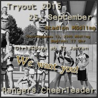 Cheerleader Tryout@Stadion Mödling