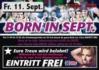 Born in September