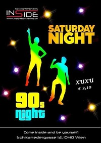 90s Night@Inside Bar
