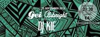 GEI Clubnight mit DJ Kie@GEI Musikclub