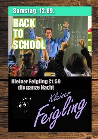 Back to School - Feigling Party