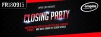Closing Party - Friday