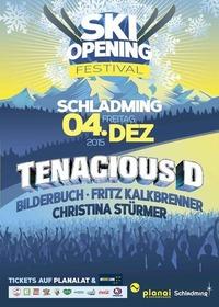 Ski-Opening Festival Schladming mit den Ö3 Konzerten von Fritz Kalkbrenner, Christina Stürmer, Bilderbuch und Tanacious D