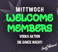 Welcome Members@Stehachterl