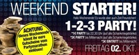 Weekend STARTER!!@Bollwerk Liezen