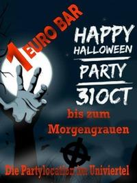 BILLIGSTE HALLOWEEN PARTY@1-Euro-Bar