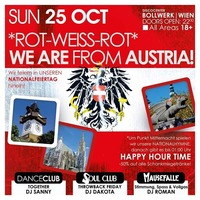WE ARE from AUSTRIA - ROT-WEISS-ROT!@Bollwerk