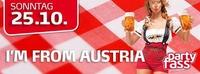 I am from Austria!@Partyfass