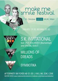 Make me Smile Festival 2015@WUK