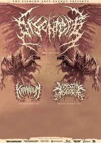 DISENTOMB (AUS), KRAANIUM (UK/NOR), VISCERAL DISGORGE (USA)@Viper Room
