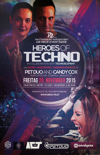 Heroes of Techno <> Pet Duo & Candy Cox@Disco P2