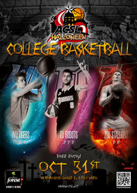 ACSL Halloween College Basketball Tournament@Basketballarena Mollardgasse