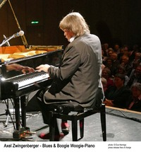 Axel Zwingenberger ...tischt auf: Blues & Boogie Woogie - SATT!@Stadtsaal Wien