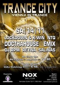 ★ TRANCE CITY – Vienna in Trance | 8 DJs  ★@Nox Bar