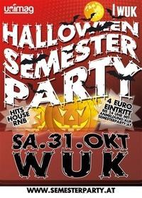 HALLOWEEN SEMESTER PARTY@WUK