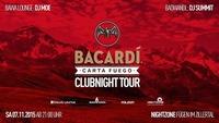 Bacardi Carta Fuego Clubnight Tour@Nightzone Zillertal