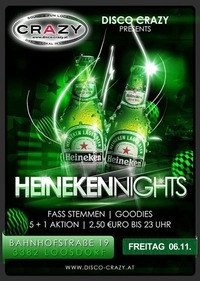 HEINEKEN NIGHT@Disco Crazy
