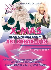 MEGA X-MAS ABI BREAK  Q12 Clubbing +16@Johnnys - The Castle of Emotions