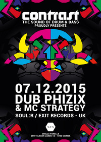 CONTRAST presents DUB PHIZIX & MC STRATEGY