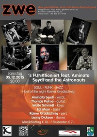 's FUNKtioniert feat. Aminata Seydi and the Astronauts@ZWE