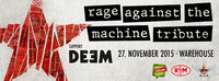 RAGE AGAINST THE MACHINE TRIBUTE - CONCERT FOR REFUGEE AID@Warehouse