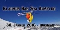 Klausur Bar - Ski Ausflug 2016@Klausur Bar
