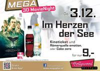 MEGA MovieNight 3D: Im Herzen der See