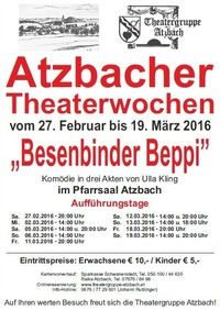 Atzbacher Theaterwochen 2016
