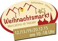 Weihnachtsmarkt - Mercatino di Natale - Christmas market@Dorfzentrum Schlanders