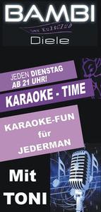 Karaoke Time@BAMBI Diele