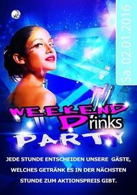 WEEKEND DRINK PARTY@Disco Coco Loco