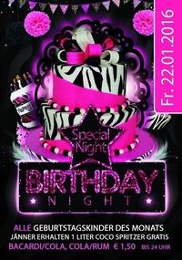 BIRTHDAY NIGHT@Disco Coco Loco