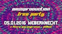 Bassproduction Free Party@Weberknecht
