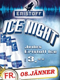 ERISTOFF ICE NIGHT@Crazy