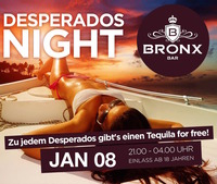 Desperados Night @Bronx Bar