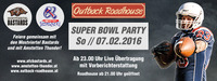 SUPERBOWL PARTY im Outback Roadhouse@Outback Roadhouse