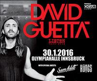 DAVID GUETTA - Listen Tour 2016