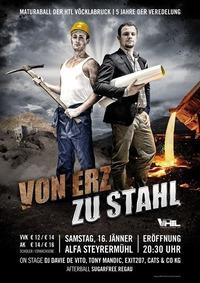 Maturaball HTLVB 2016  - Von Erz zu Stahl - 5 Jahre der Veredelung@ALFA - Papiermachermuseum