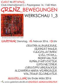 GRENZ_BEWEGUNGEN Werkschau 1_3 @Cafe Club International C.I.