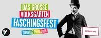 DAS GROSSE VOLKSGARTEN FASCHINGSFEST@Volksgarten Wien