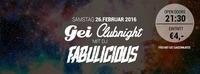 GEI Clubnight mit DJ Fabulicious @ GEI Musikclub, Timelkam@GEI Musikclub