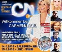 Willkommen bei Carmen Nebel –  Österreich Tournee 2016