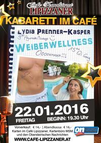 Kabarett im Café - Lydia Prenner-Kasper@Café Lipizzaner