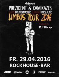 Prezident & Kamikazes  Limbus Tour 2016 mit Drunkn Masters und Hinz & Kunz
