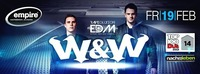 W&W presented by RAVEolution EDM@Empire St. Martin
