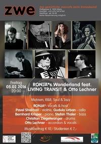 RONJA*s Wonderland feat. LIVING TRANSIT & Otto Lechner@ZWE
